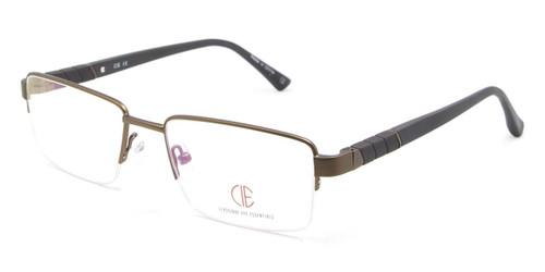 Brown CIE SEC114 Eyeglasses.