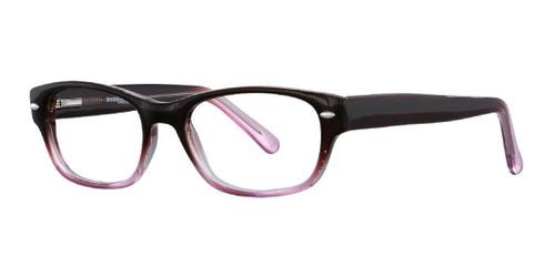 Brown/Rose Affordable Designs Brooklyn Eyeglasses.
