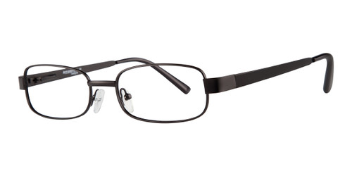 Matte Black Affordable Designs Dakota Eyeglasses.