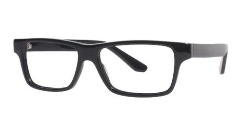 Black Affordable Designs Fred Eyeglasses.