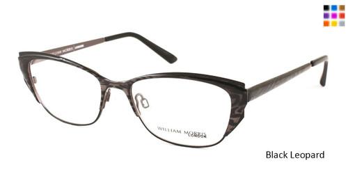 Black Leopard William Morris London WM4141 Eyeglasses