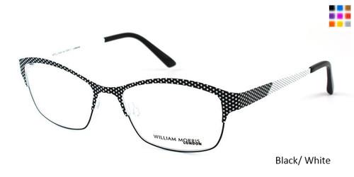Black/White William Morris London WM4131 Eyeglasses