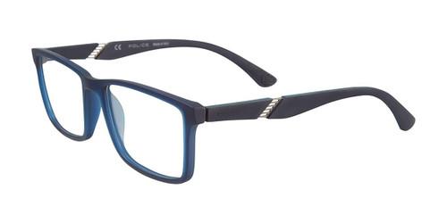 Rubber Blue Police VPL389 Eyeglasses.