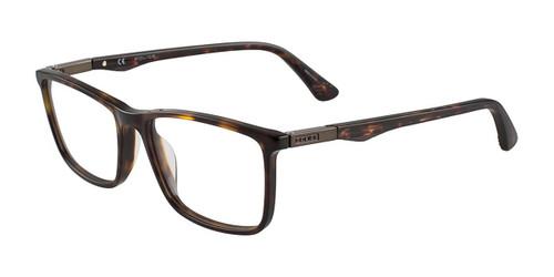 Matt Dark Havana Police VPL393 Eyeglasses.