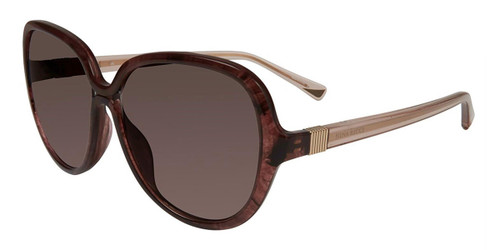 Burgundy Streak Nina Ricci SNR063 Sunglasses