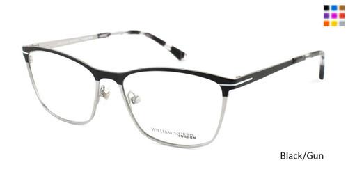 Black/Gun William Morris London WM6999 Eyeglasses