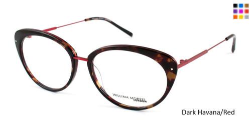 Dark Havana/Red William Morris London WM6991 Eyeglasses