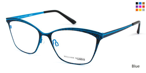 Blue William Morris London WM50019 Eyeglasses