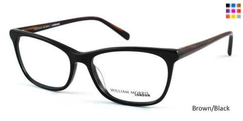 Brown/Black William Morris London WM50017 Eyeglasses