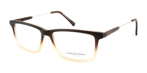 Brown Gradient William Morris Charles Stone NY CSNY 30003 Eyeglasses