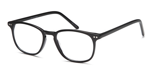 Black Capri Artistik Eyewear ART 313 Eyeglasses - Teenager