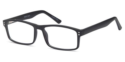 Black Capri Millennial Insta Eyeglasses.