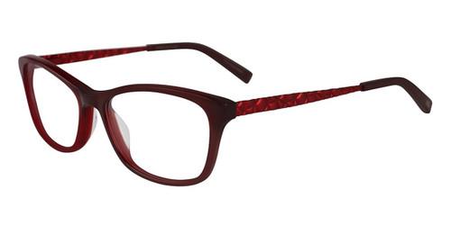 Burgundy Jones New York J762 Eyeglasses.