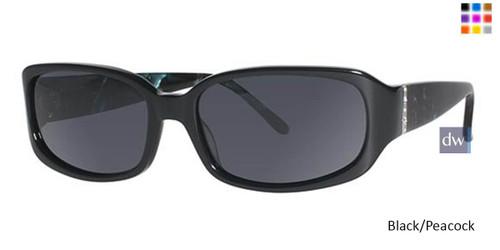 Black/Peacock Vavoom 8804 Sunglasses