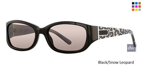 Black/Snow Leopard Vavoom 8809 Sunglasses