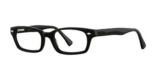 Black Elan 3001 Eyeglasses - Teenager.