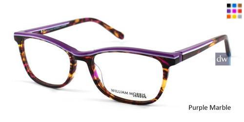 Purple Marble William Morris London WM50036 Eyeglasses