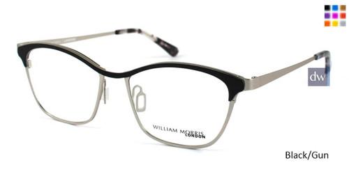 Black/Gun William Morris London WM50015 Eyeglasses
