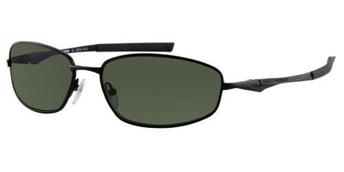 Matte Black/Green HARLEY DAVIDSON HD0816X Sunglasses.