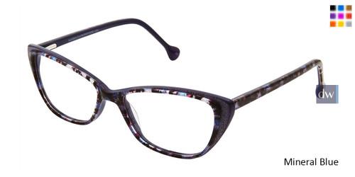 Mineral Blue Lisa Loeb Angel Eyeglasses