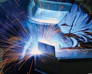 How do I select an amperage level for TIG Welding?