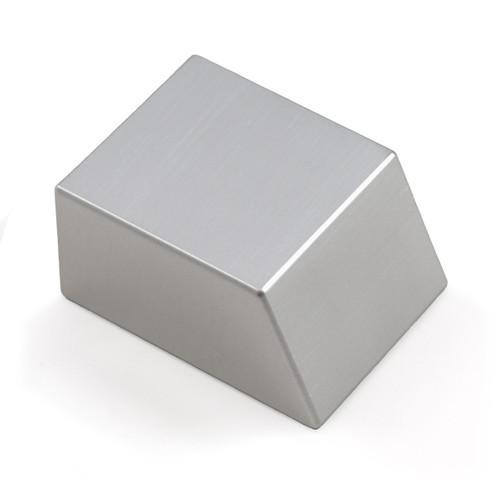 "Tungsten Bucking Bar BB-16: 1.76 lbs, Angled Face, 1"" x 1.5"" x 2"""