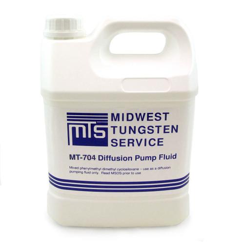 MT-704 Diffusion Pump Oil - One Gallon
