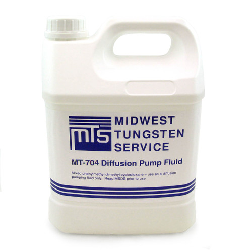 MT-704 Diffusion Pump Oil - One Gallon
