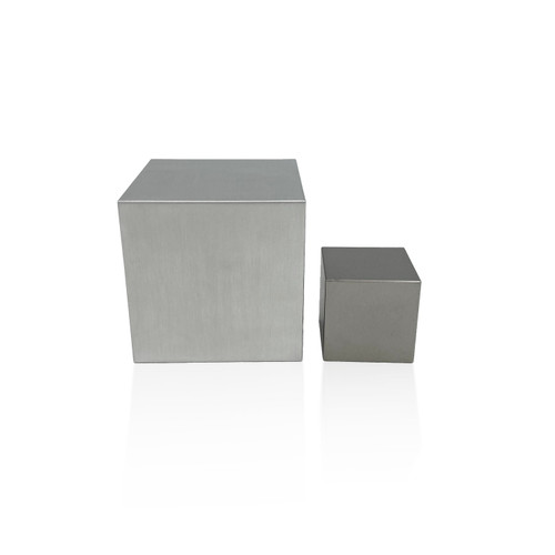 Kilo Tungsten and Aluminum Cube Set