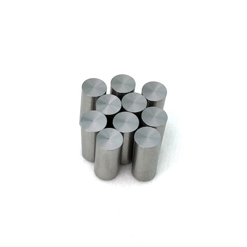 """Pinewood Derby Car 99.95% Pure Tungsten Weight 10-Pack   0.32oz ea, 0.25"""" dia. x 0.57"""" long"""