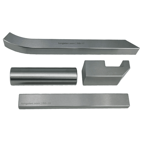Tungsten Bucking Bar Expert Set - (Four Bars - BB-13/17/19/20)