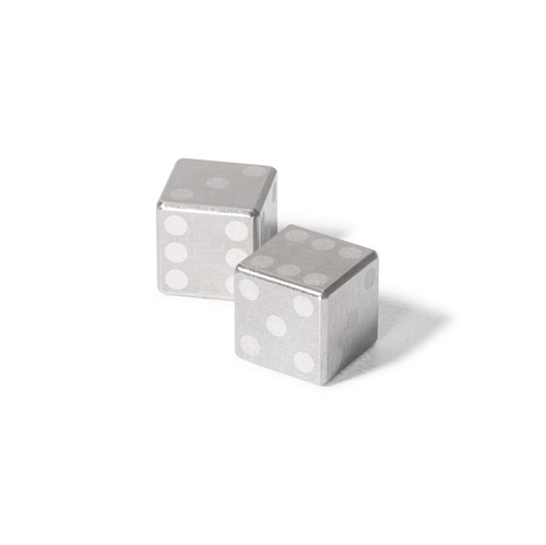 Tungsten Dice - Set of 2