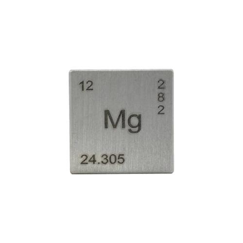 """1"""" Magnesium Element Cube"""