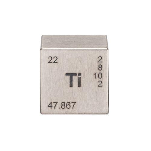 """1"""" Titanium Element Cube"""