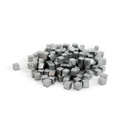 3 mm Tungsten Cubes - 1 lb Bag