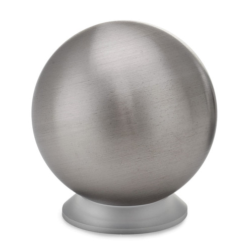 """Tungsten 2.175"""" Sphere with 3D Printed Base 