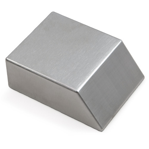 "Tungsten Bucking Bar BB-6: 1.33 lbs, Angled Face 3/4"" x 1.5"" x 2"""