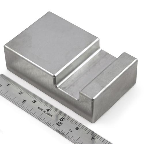 Tungsten Ergonomic Bucking Bar BB-14 0.63 x 0.75 x 3.99 Angled Face 1.20 lbs