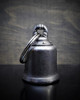 Maltese Cross - Pewter - Motorcycle Gremlin Bell - Made In USA - SKU BB25-DS