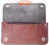 Leather Chain Wallet - Premium - Brown - Biker - AC51-BROWN-DL