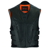 Men's Leather Vests