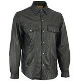 Men's Leather Shirts