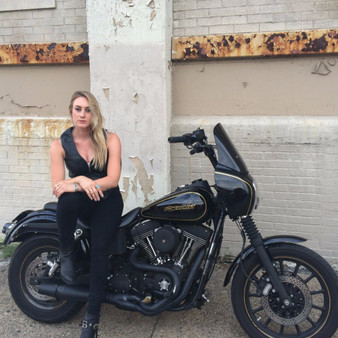 Montana - Women's Motorcycle Leather Motorcycle Vest - SKU GRL-FIL515CSL-FM
