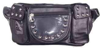 Motorcycle Magnetic Tank Bag with Studs - TB3038-PV-DL