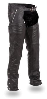Patriot Men's Leather Chaps - SKU GRL-FIM840CSL-CDD-FM