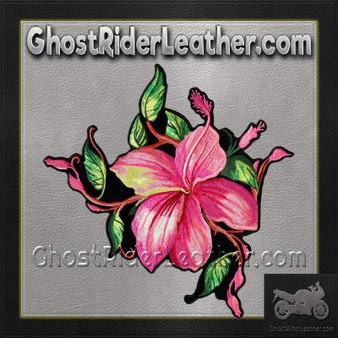 Pink Flower Vest Patch - SKU GRL-PPA8290-HI