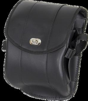 Plain PVC Motorcycle Sissy Bar Bag with Gun Holster - SKU SB86-DL