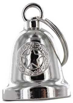 Police Star - Chrome Motorcycle Ride Bell - SKU GRL-BLC24-DL