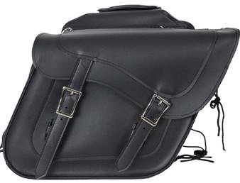 PVC Motorcycle Saddlebags With Gun Pockets - Motorcycle Luggage - SKU SD4090-NS-PV-DL