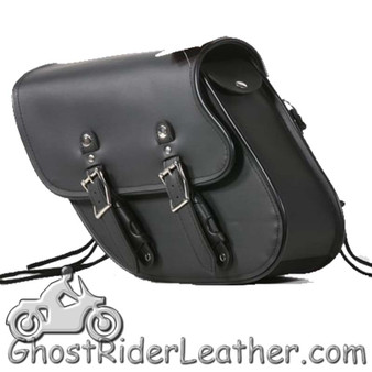 PVC Motorcycle Solo Swing Arm Bag - Motorcycle Luggage - SKU SD4097-SOLO-DL
